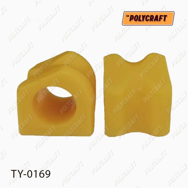 Поліуретанова втулка стабілізатора переднього (зовнішня) D=27,5 mm
