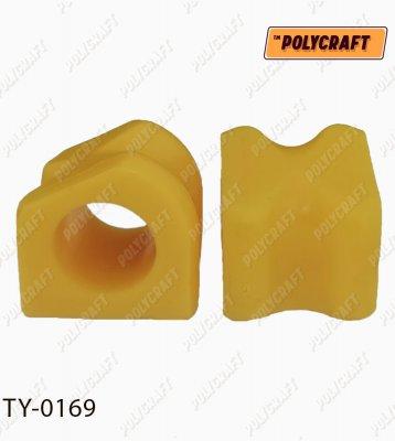 Поліуретанова втулка стабілізатора переднього (зовнішня) D=27,5 mm ty0169