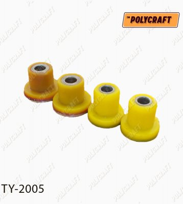 Комплект полиуретановых сайлентблоков (4 шт) рулевой рейки ty2005