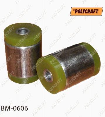 Поліуретановий (запресований) сайлентблок заднього (нижнього) важеля (передній) bm0606