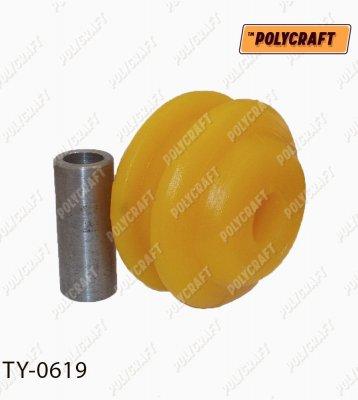 Полиуретановый сайлентблок переднего рычага (задний) ty0619