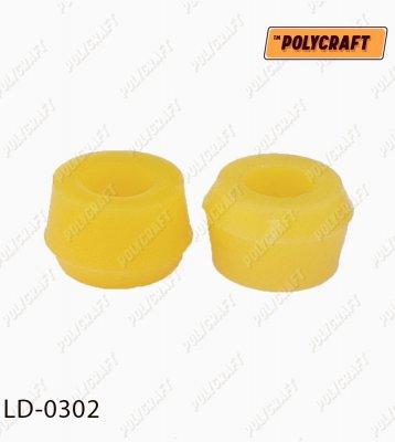 Поліуретанова втулка амортизатора (заднього)  половинка ld0302