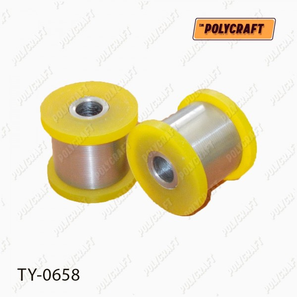 Полиуретановый сайлентблок переднего амортизатора (нижний)