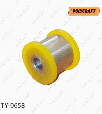 Полиуретановый сайлентблок переднего амортизатора (нижний) ty0658