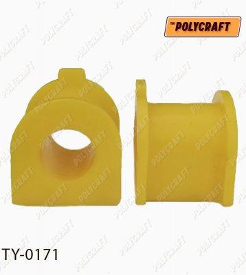 Полиуретановая втулка стабилизатора (переднего) D = 27 mm. ty0171