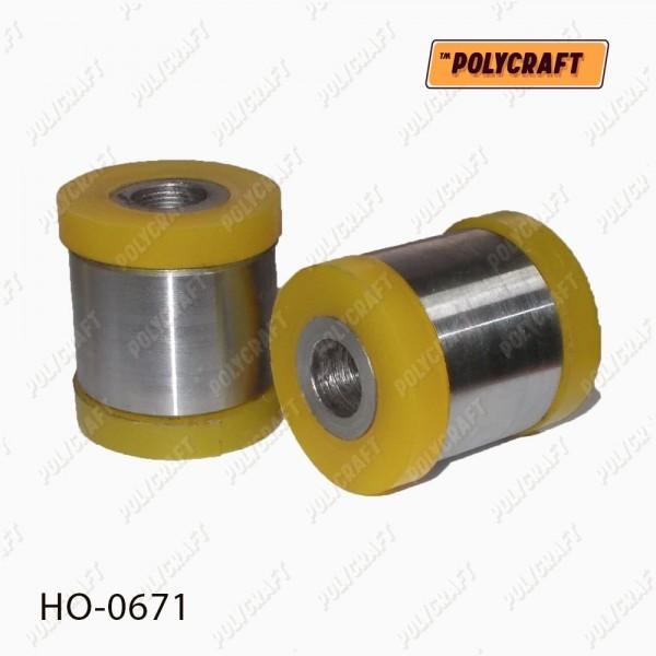 Полиуретановый сайлентблок заднего амортизатора (нижний)/поперечной тяги