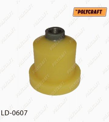 Поліуретановий сайлентблок задньої балки    D=48 mm.   ld0607