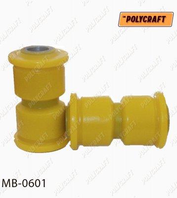 Поліуретановий сайлентблок задньої ресори (задній та задній верхній)  mb0601