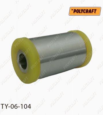 Полиуретановый сайлентблок задней рессоры (передний) ty06104