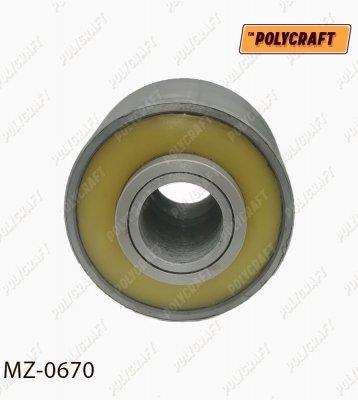 Поліуретановий (запресований) сайлентблок важеля переднього (задній)  mz0670