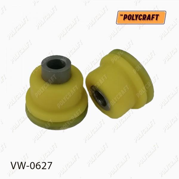 Полиуретановый сайлентблок (половинка) заднего нижнего рычага (передний)