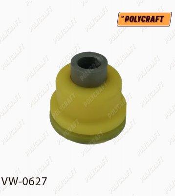 Полиуретановый сайлентблок (половинка) заднего нижнего рычага (передний) vw0627