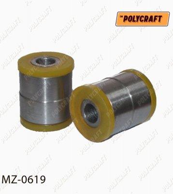 Полиуретановый сайленблока заднего рычага (внешний) к цапфе mz0619