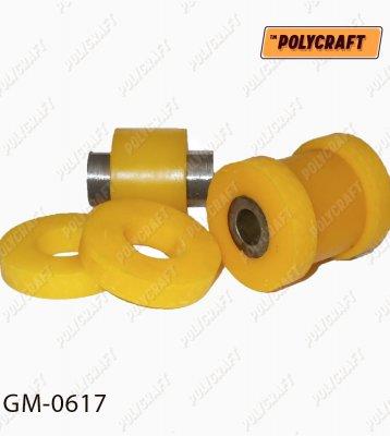Поліуретановий сайлентблок задньої цапфи (замість плаваючого) 96440024, 96440025 gm0617