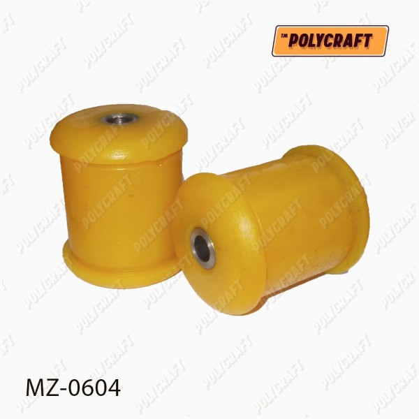 Поліуретановий сайлентблок важеля переднього нажнього зігнутого (встановлювати в обойму старого сайлентблока)