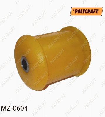 Полиуретановый сайлентблок рычага переднего нажнього согнутого (устанавливать в обойму старого сайлентблока) mz0604