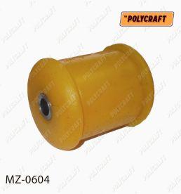 mz0604 Полиуретановый сайлентблок рычага переднего нажнього согнутого (устанавливать в обойму старого сайлентблока)