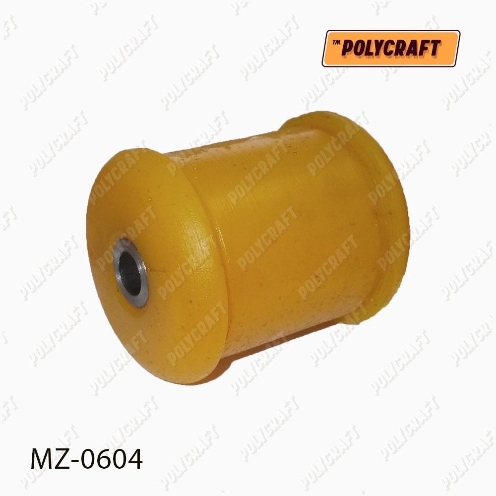 Полиуретановый сайлентблок рычага переднего нажнього согнутого (устанавливать в обойму старого сайлентблока)