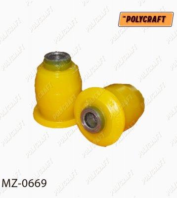 Поліуретановий сайлентблок важеля переднього (передній)    mz0669