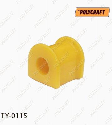 Полиуретановая втулка стабилизатора (переднего) D = 19 mm. ty0115