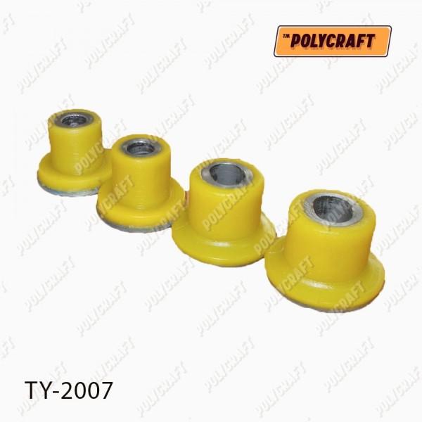 Комплект полиуретановых сайлентблоков (4 шт) рулевой рейки