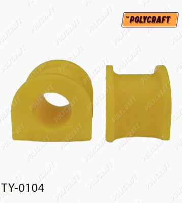 Полиуретановая втулка стабилизатора (переднего) D = 26 mm. ty0104