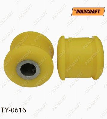 Поліуретановий сайлентблок передньої тяги мосту (задній)   ty0616