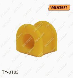ty0105  Полиуретановая втулка стабилизатора (переднего / заднего) D = 25 mm.