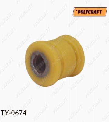 Полиуретановый сайлентблок задней поперечной тяги Панара ty0674