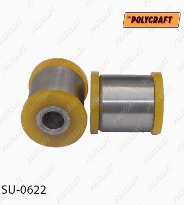 Полиуретановый сайлентблок задней подвески. Верхнего рычага (к цапфе) / нижнего рычага (внутренний) su0622