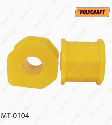 Полиуретановая втулка стабилизатора (переднего) внешняя D = 20/19 mm. mt0104