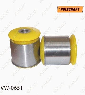 Поліуретановий сайлентблок заднього важеля (зовнішній) vw0651