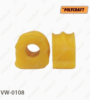 Поліуретанова втулка стабілізатора (переднього) D=17,5 mm.   vw0108