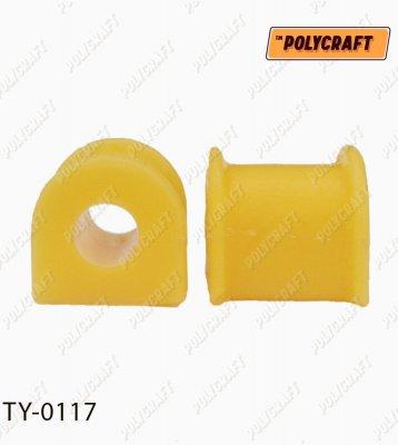 Полиуретановая втулка стабилизатора (переднего) D = 17 mm. ty0117