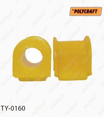 Поліуретанова втулка стабілізатора (переднього) D=23 mm.  ty0160