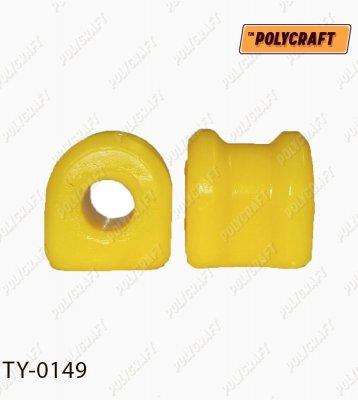 Поліуретанова втулка стабілізатора (заднього) D=19 mm.  ty0149