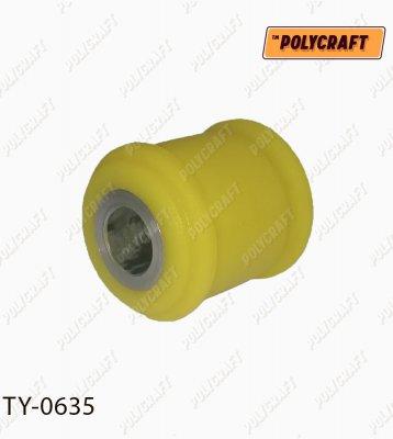 Поліуретановий сайлентблок задньої тяги ty0635