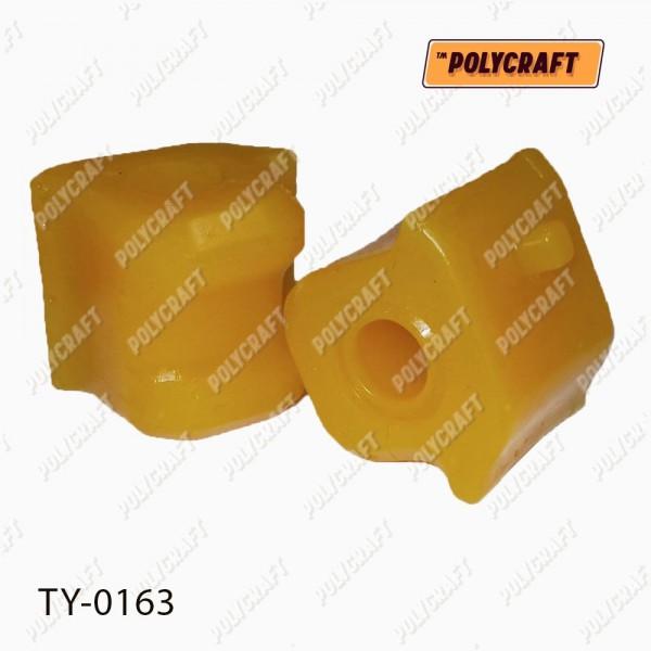 Полиуретановая втулка стабилизатора (переднего) левая D = 22,2 mm.
