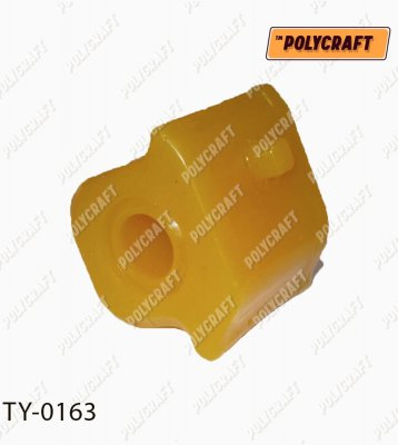 Полиуретановая втулка стабилизатора (переднего) левая D = 22,2 mm. ty0163