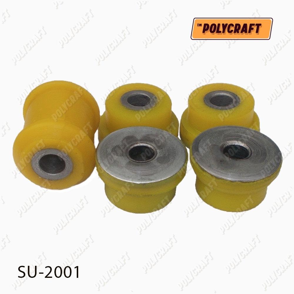 Комплект полиуретановых сайлентблоков заднего (верхнего) рычага