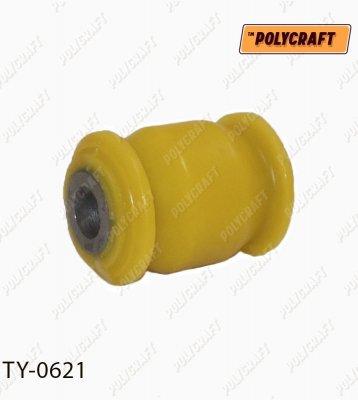 Полиуретановый сайлентблок задней поперечной тяги передней (внутренний) ty0621