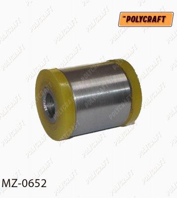 Полиуретановый сайлентблок задней подвески, поперечного рычага (внешний) mz0652