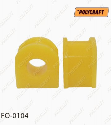 Полиуретановая втулка стабилизатора (переднего) D = 19 mm. fo0104