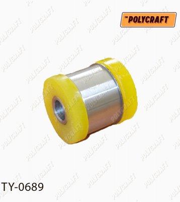 Полиуретановый сайлентблок задней подвески нижнего рычага (передний) ty0689