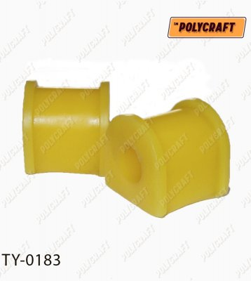 Поліуретанова втулка стабілізатора (переднього) D=17 mm.   ty0183