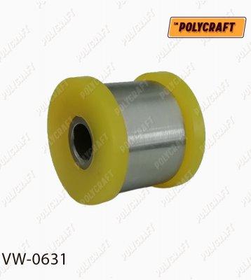 Полиуретановый сайлентблок заднего верхнего поперечного рычага (крепление к кузову) Задней реактивной тяги (диагональной) (крепление к кузову) D = 44 / D = 12 mm. vw0631
