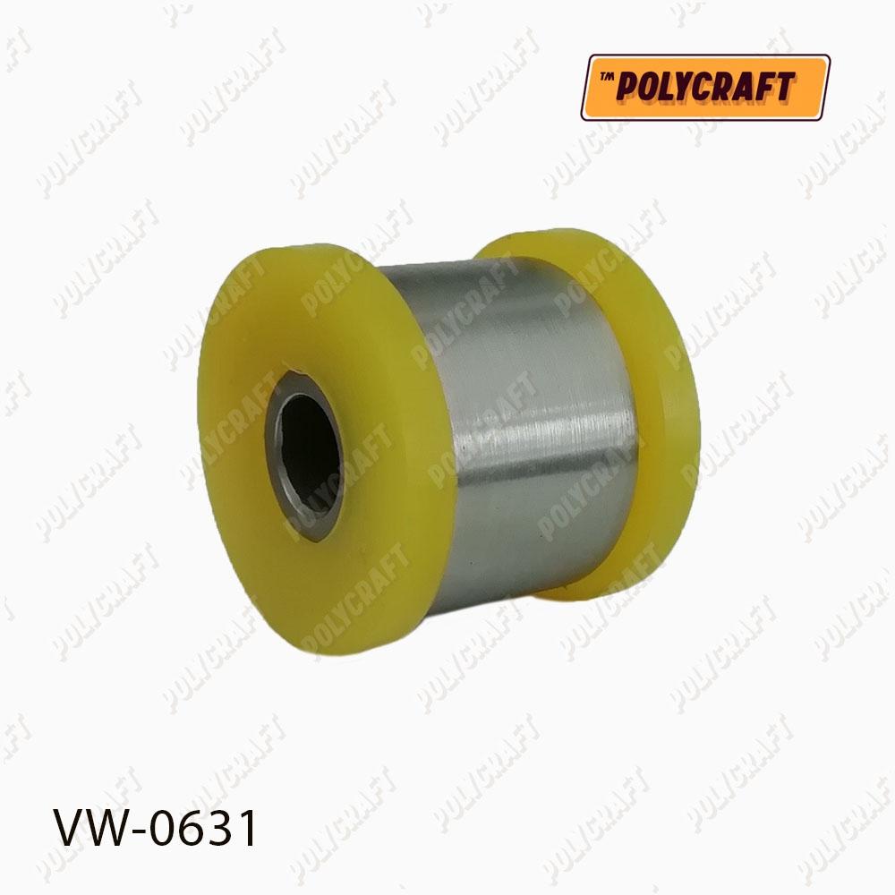 Полиуретановый сайлентблок заднего верхнего поперечного рычага (крепление к кузову) Задней реактивной тяги (диагональной) (крепление к кузову) D = 44 / D = 12 mm.