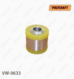vw0633 Поліуретановий сайлентблок задньої нижньої тяги (кріплення до цапфи ); Задньої реактивної тяги (діагональної) (кріплення до цапфи)   D=44/D=16 mm.