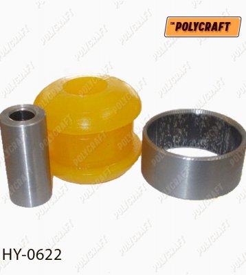 Полиуретановый сайлентблок рычага переднего (передний) hy0622