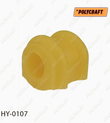 Поліуретанова втулка стабілізатора (переднього) D=24,8 mm.  hy0107
